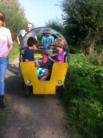 In de bakfiets